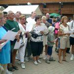 """15 août : La Plagne De nombreux participants sont venus dire leurs mots pour résoudre une grille géante très """"nature""""."""