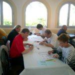 24 avril : Grand Prix de Six-Fours Vue de la salle, face à l'île des Embiez : on dit AQUACULTURE ou AQUICULTURE ?