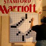 16 mars : Stamford (USA) Championnat américain Finale de la catégorie élite. Le vainqueur à l'action sur la grille de 15x15 présentée sur un tableau effaçable.