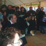 """07 mars : BRON - Fête du Livre Du Beau Danube Bleu aux Bluebell Girls, le public brondillant n'a pas eu le blues pour résoudre la grande grille """"Bleue""""."""