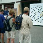 08 août : CORDON (Haute-Savoie) Sur le stand de la bibliothèque des cruciverbistes à la page.