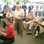 16 mai : Festival d'Is-sur-Tille Un public dominical passionné par les parties entre les demi-finalistes du Tournoi de Bourgogne 2004.