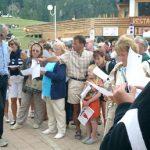 15 août : La Plagne Après-midi de mots croisés sur la fête : résolution d'une grille sur la montagne en compagnie du guide des mots.