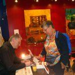 30 avril : Genève, Salon de La Presse et du Livre Dédicace du livre sur le stand de l'éditeur LE TEMPS... de croiser les mots avec une lectrice haut-savoyarde.